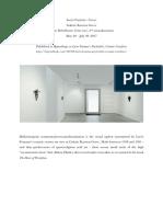 Art review of Lucio Fontana