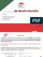 Criterio de Routh