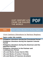 21st Century Literature From the Philippines   Poetry   Fiction