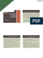 Introdução e Avaliação Nutricional Funcional