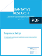 quantative research