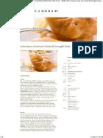Gebackenes Fisch Und Kartoffelsalat