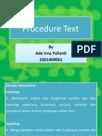 Procedure Text1
