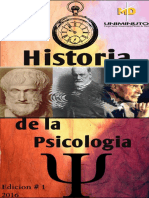 Revista de Historia de La Psicologia