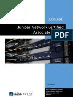 JNCIA Lab Guide INTRA 1st Edition