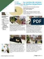 La Cocina de Verano de Karlos Arguiñano 2016