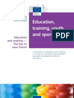 Education Training Youth and Sport En
