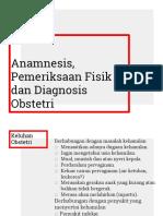 Anamnesis Pemfis Obstetri