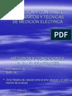 12.- Selección y Contraste de Aparatos y Técnicas de Medición Eléctrica