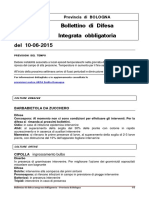 Bollettino Del 2015.06.10