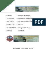 Geologia de Minas Unamba