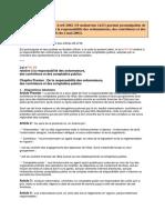 Dahir n° 1-02-25 loi n° 61-99 responsabilité des ordonnateurs, contrôleurs comptables publics