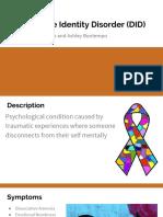 dissociative identity disorder - paige and ashley