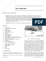 Mechanical Seal Face Materials