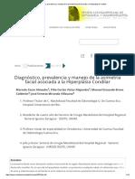 Diagnóstico, Prevalencia y Manejo de La Asimetría Facial Asociada a La Hiperplasia Condilar