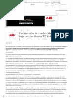 Construcción de Cuadros ...1 y 2 _ Voltimum España