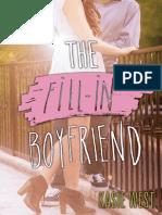 The Fill-In Boyfriend - Kasie West.pdf