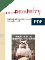 Biochemistry Introduction 2016