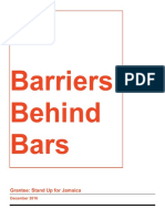 SUFJ_Barriers Behind Bars Report