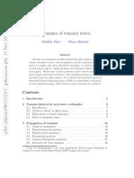 Dynamics of Tsunami Waves