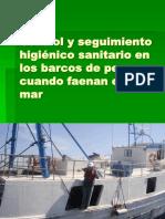 Control y Seguimiento Higiénico Sanitario en Los Barcos