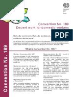 ILO Convention No. 189