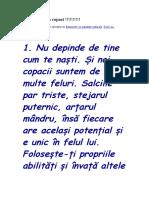 Exemple de La Copaci