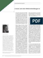 Ursula Straumann - Der Personzentrierte Ansatz Und Seine Weiterentwicklungen In