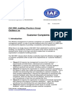 APG CustomerComplaints2015