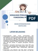 Sosialisasi Jabatan Fungsional Perawat Baru