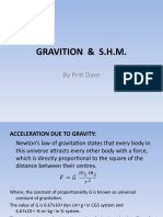 GRAVITION  &  S.H.M.
