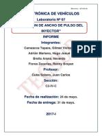 LABORATORIO N° 07- ELECTRONICA DE VEHÍCULO