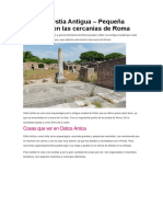 Conocer Ostia Antigua