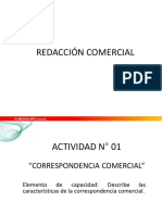 Redacción Comercial III Módulo