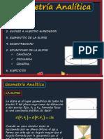 Geometría Analítica (La Elipse).pptx