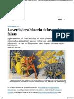 Origen de Prensa Amarilla