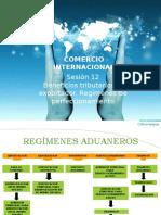 Sesión 12 Beneficios Tributarios Al Exportador