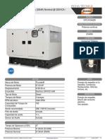 Generador EVANS 30 KW