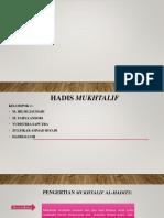 HADIS MUKHTALIF.pptx