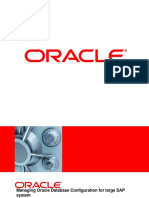 Managing Oracle
