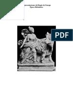 Representaciones iconográficas en época helenística de Europa