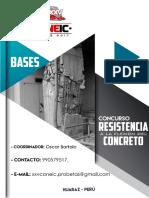 Bases Resistencia a La Flexin Del Concreto en Vigas