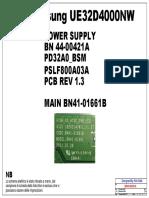 Samsung+UE32D4000+-+Power+Supply