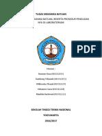 sifat fisik batuan dan prosedur pengujian lab
