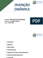 Artigo de Ergonômia - Flávio