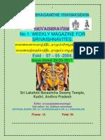 Srivaishnavism 28-05-2017