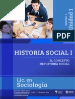 Historia Social 1 - Semana 1