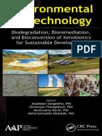 Environmental Biotechnology Biodegradation- Bioremediation- And Bioconversion of Xenobiotics for Sustainable Development