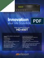 Mvision Hd-450t Leaflet Version 2010