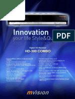 Mvision Hd-300 Combo Leaflet Version 2010